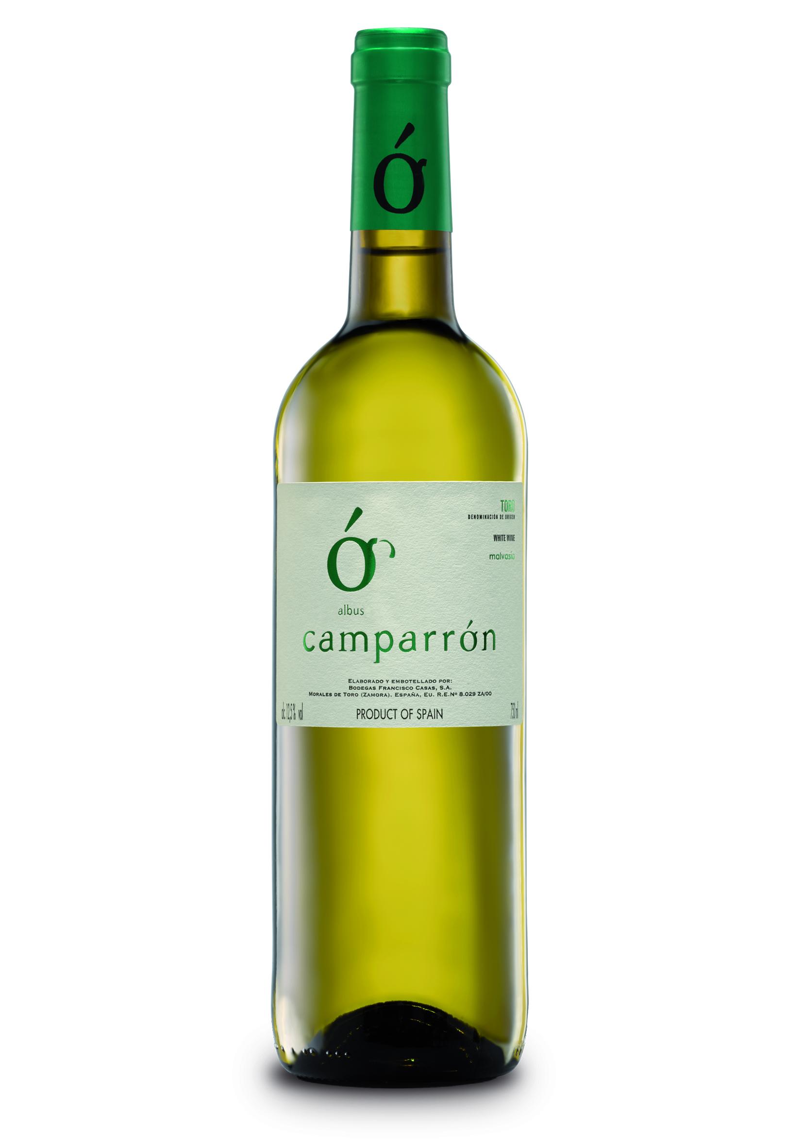 Vino blanco Camparrón. Bodegas Francisco Casas. D.O. Toro