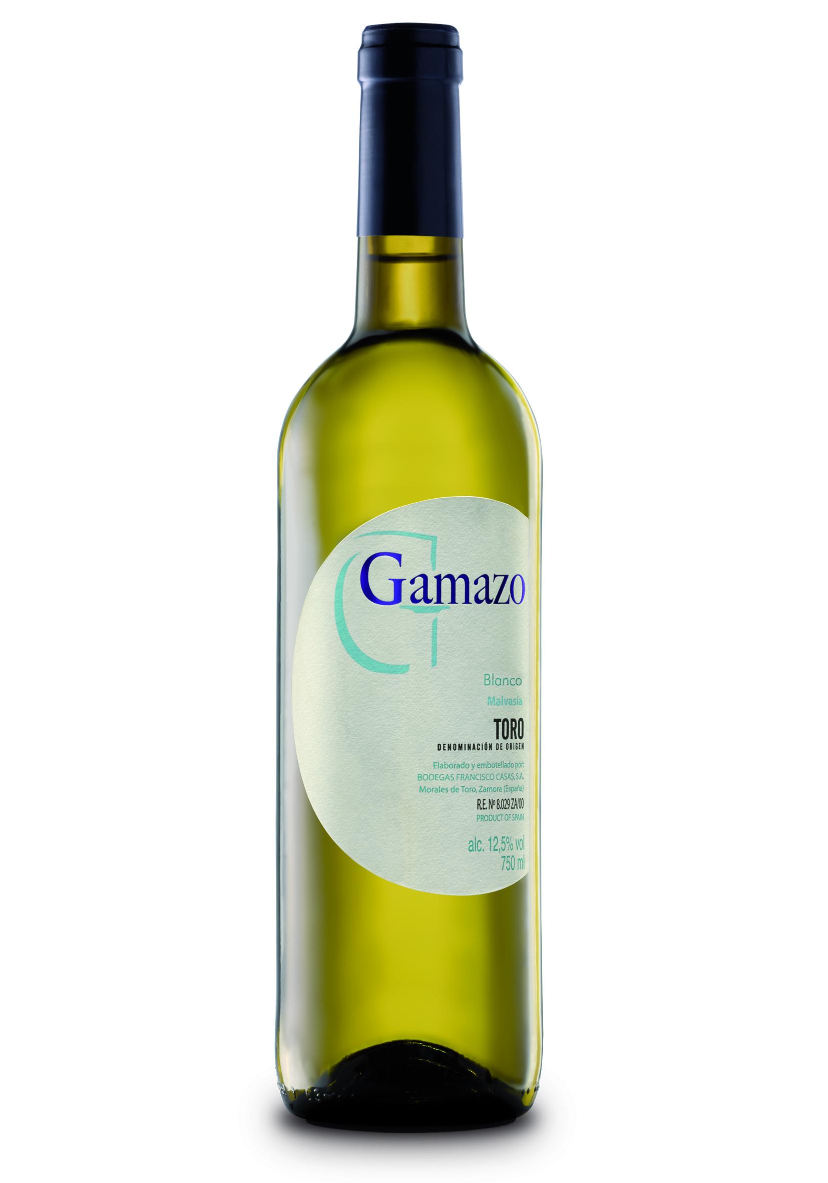Vino Gamazo blanco. Bodegas Francisco Casas. D.O. Toro
